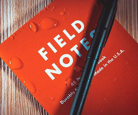 Field Notes Waterproof Notebook - http://coolthings.us