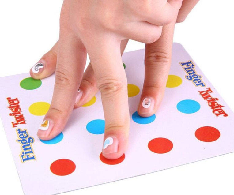 Finger Twister Game - http://coolthings.us