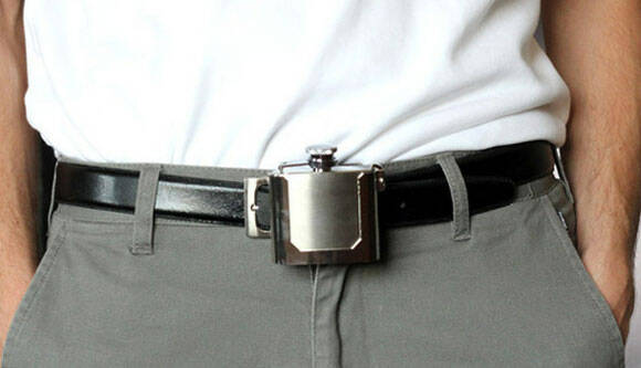 Flask Belt Buckle - http://coolthings.us