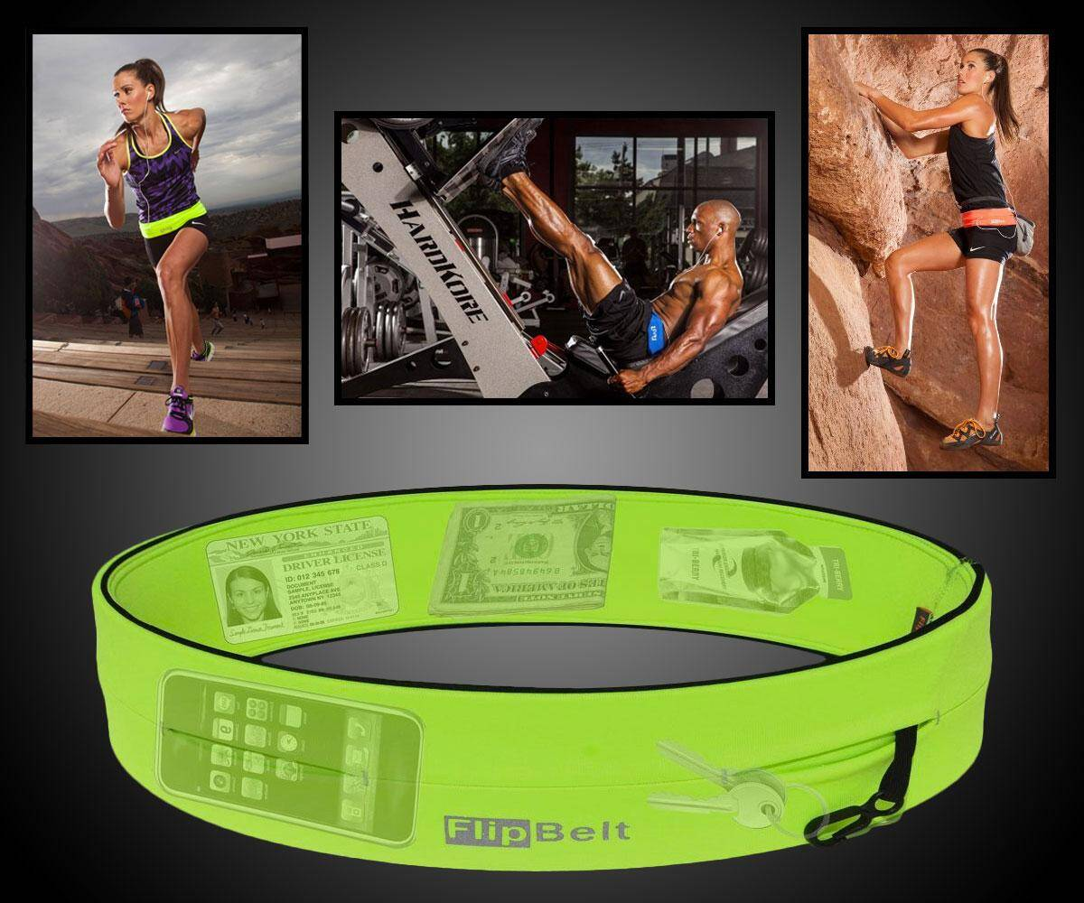 FlipBelt Fitness Storage Belt - http://coolthings.us