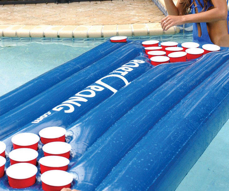 Inflatable Beer Pong Game - http://coolthings.us
