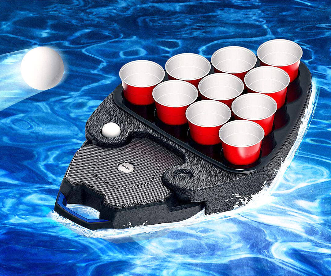 Floating Beer Pong Speaker