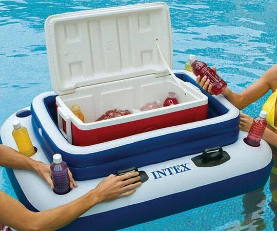 Floating Cooler - http://coolthings.us