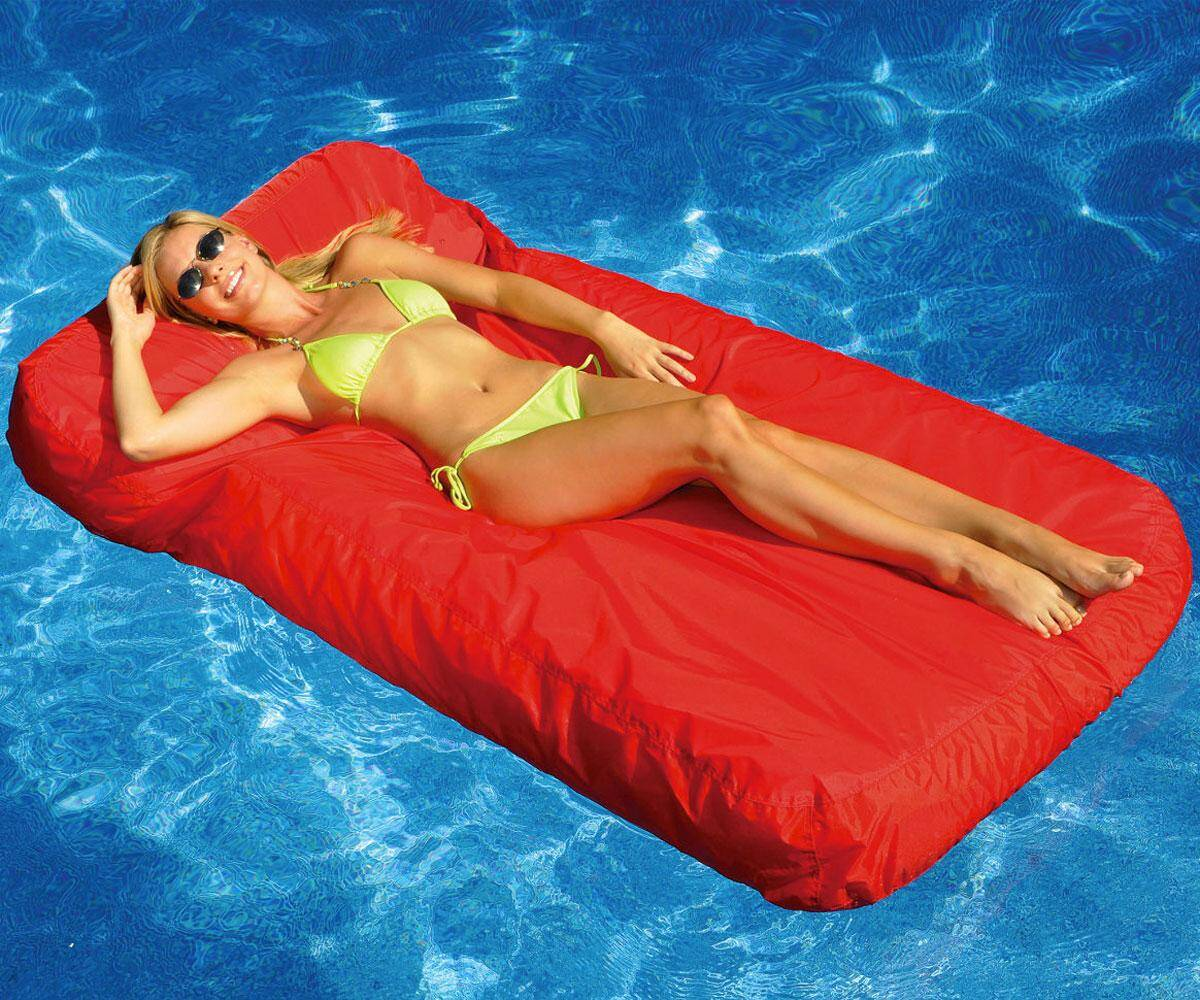 Floating Mattress - http://coolthings.us