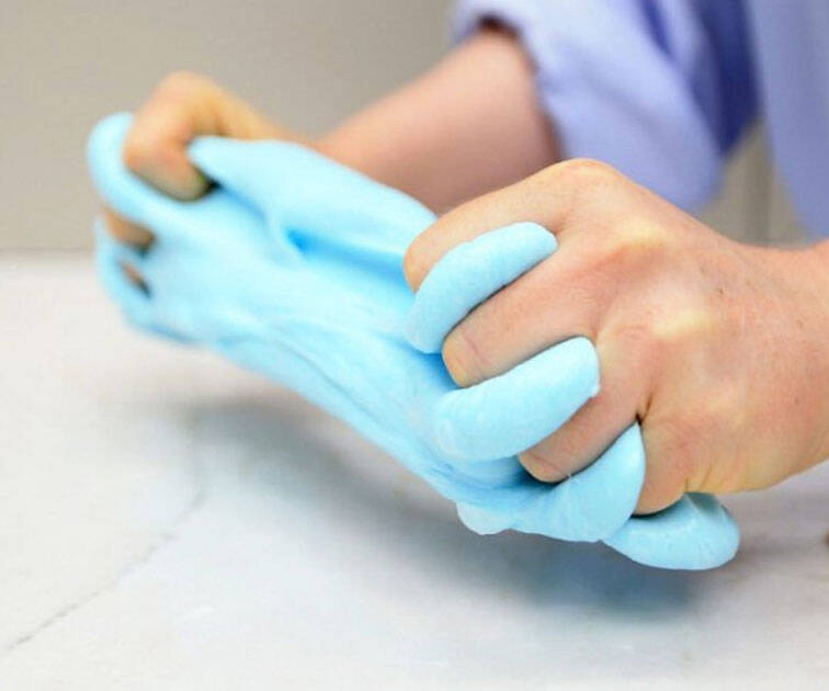 Fluffy Slime Stress Relief Toy - http://coolthings.us