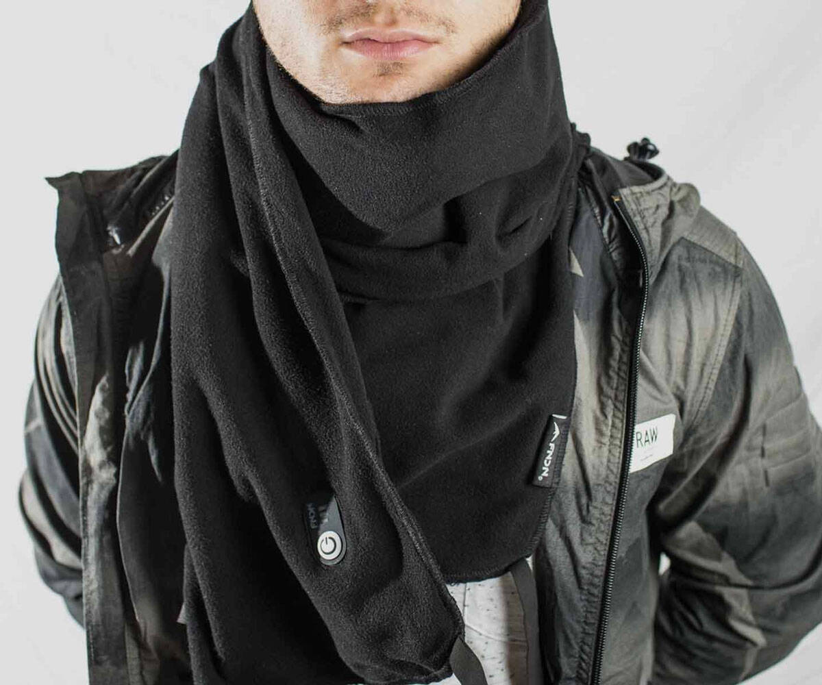 FNDN Heated Scarf - http://coolthings.us