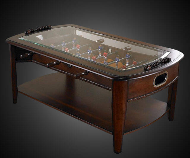 Foosball Coffee Table - http://coolthings.us