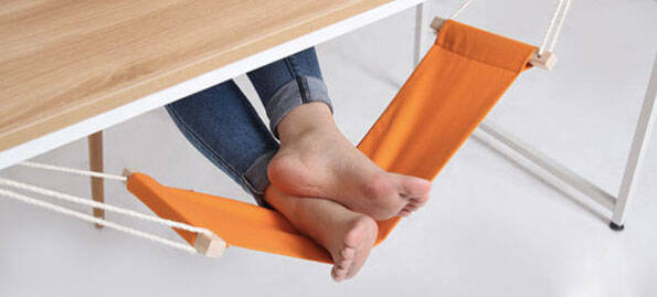 Foot Hammock - http://coolthings.us