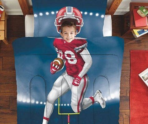 Football Player Bedding - coolthings.us