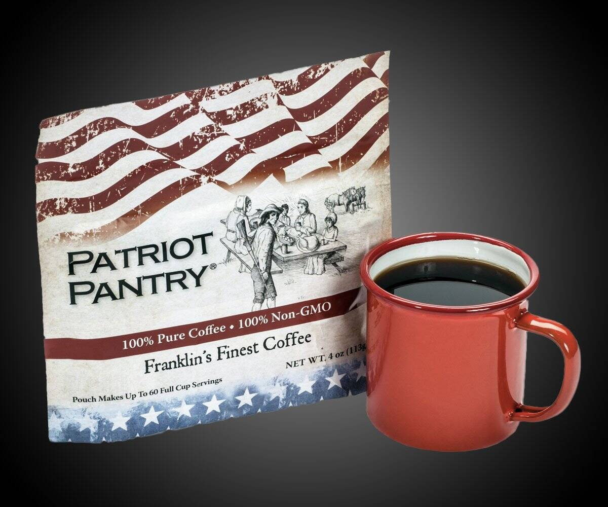Franklin's Finest Emergency Survival Coffee - http://coolthings.us