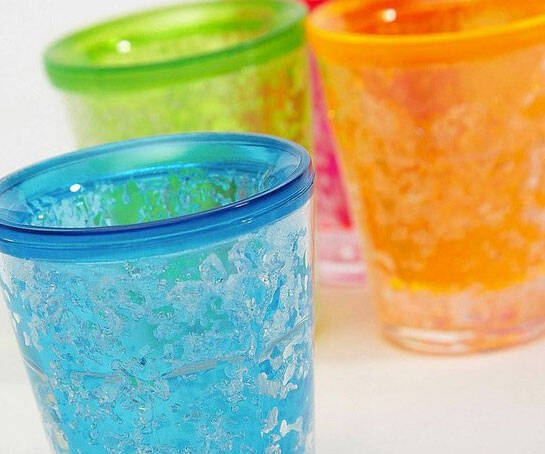 Freezable Gel Shot Glasses - http://coolthings.us