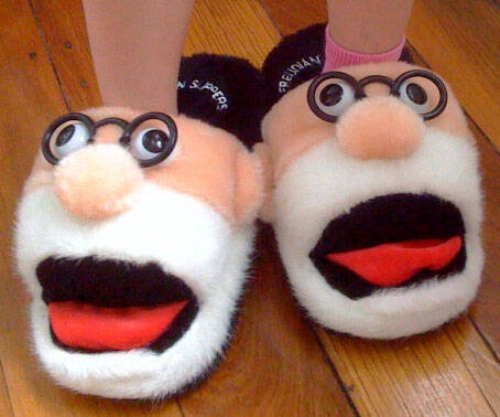 Freudian Slippers - http://coolthings.us