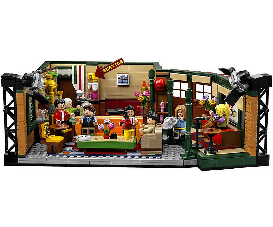 Friends Central Perk LEGO Set - http://coolthings.us