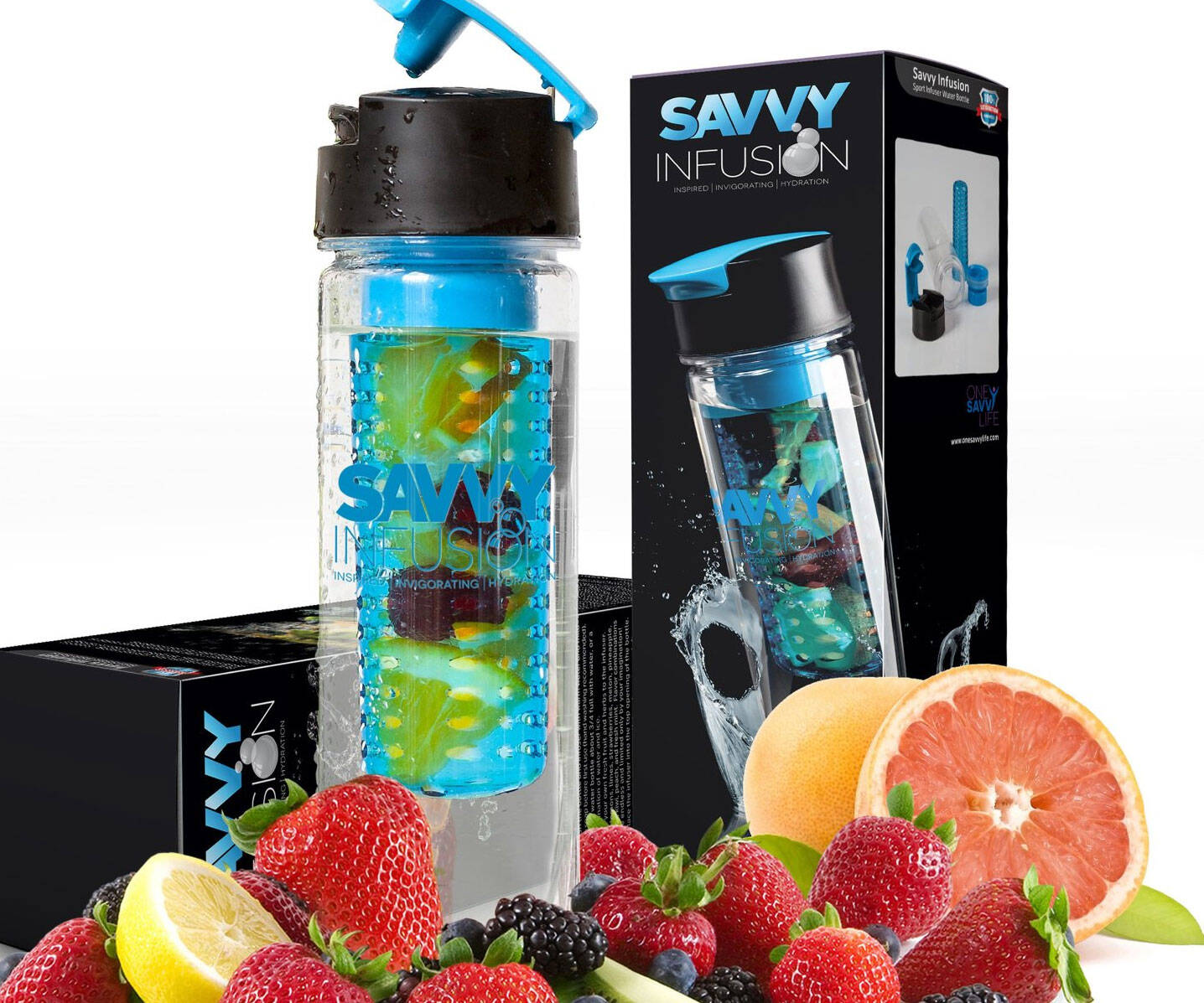 Fruit Infuser Water Bottle - http://coolthings.us