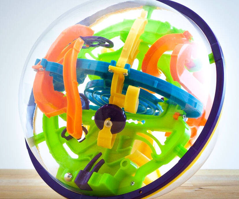 The Frustrator Puzzle Ball - http://coolthings.us
