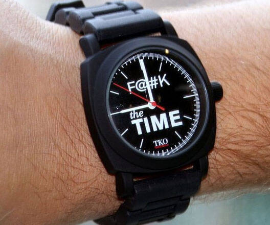 F*ck The Time Watch - http://coolthings.us