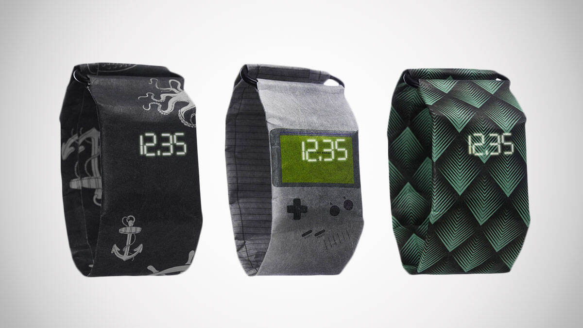 Digital Wrist Paper Watches - http://coolthings.us