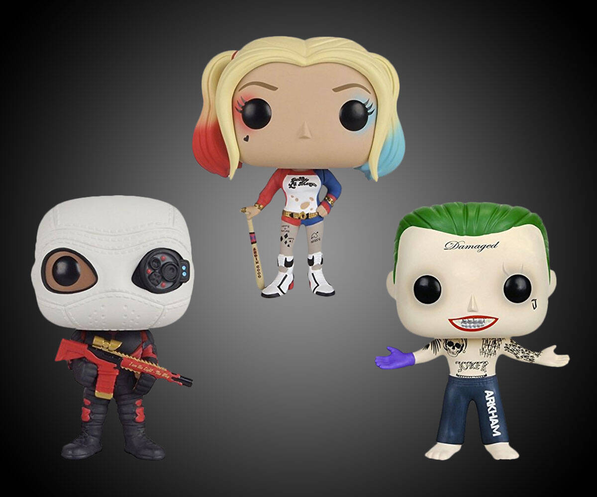 Funko POP Suicide Squad Action Figures - coolthings.us