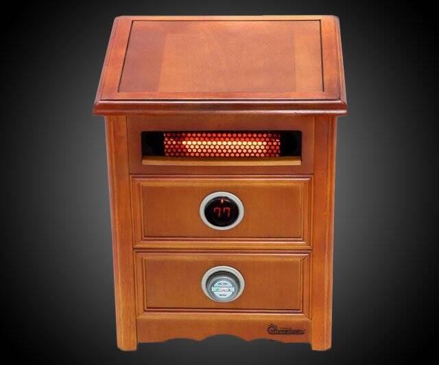 Furniture-Grade Cabinet Heater - coolthings.us