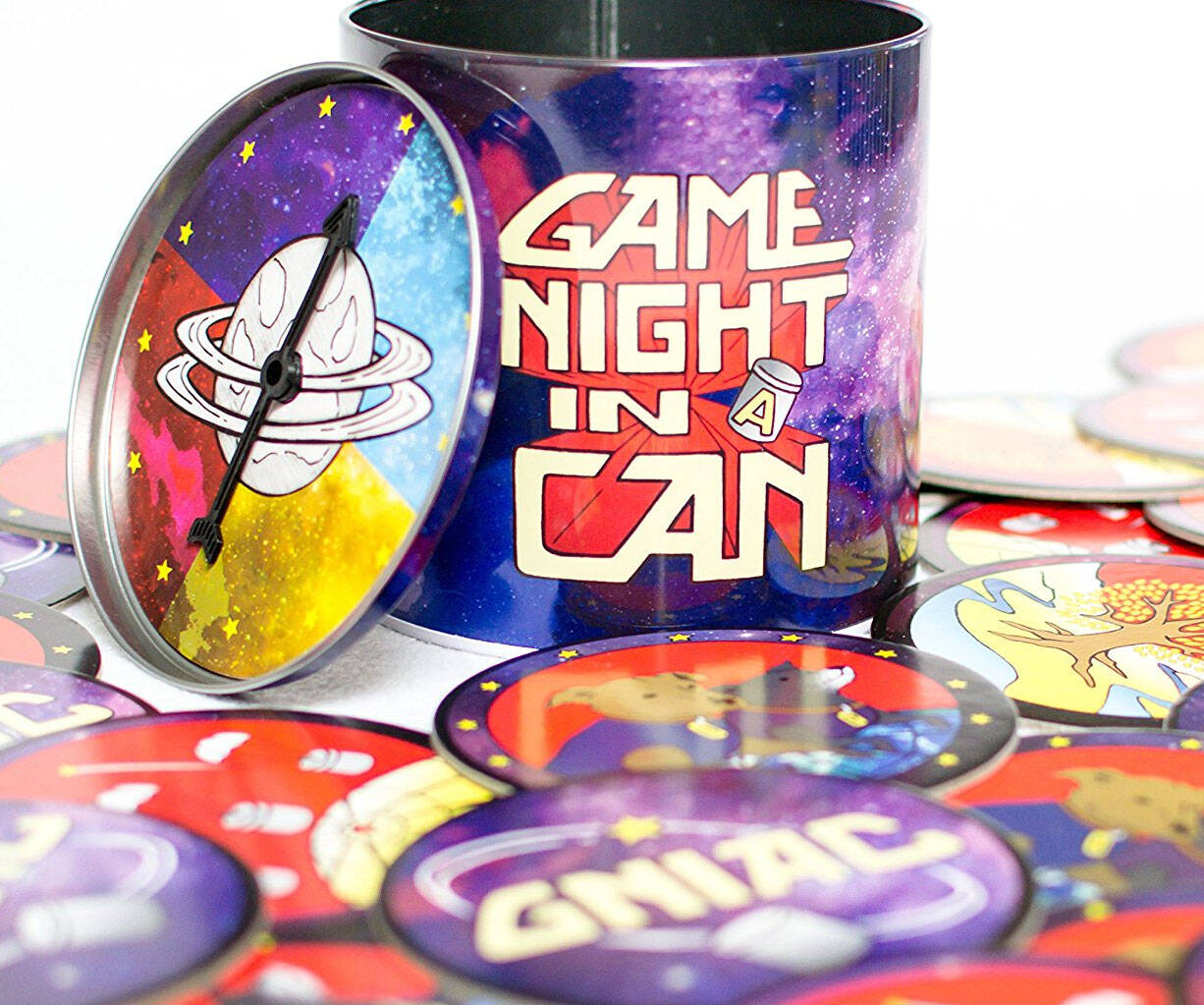 Game Night In A Can - http://coolthings.us