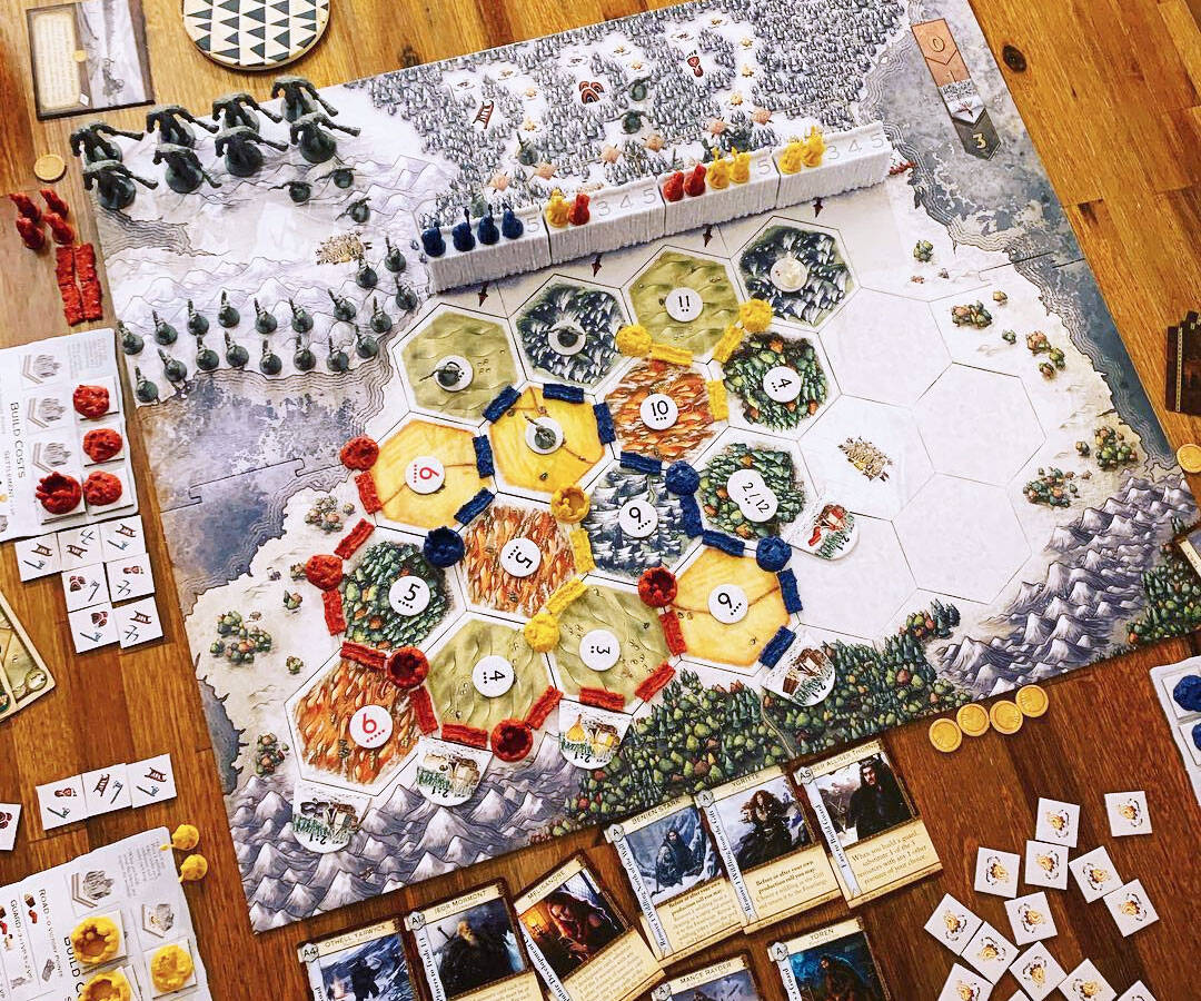 Game Of Thrones Catan Board Game - http://coolthings.us