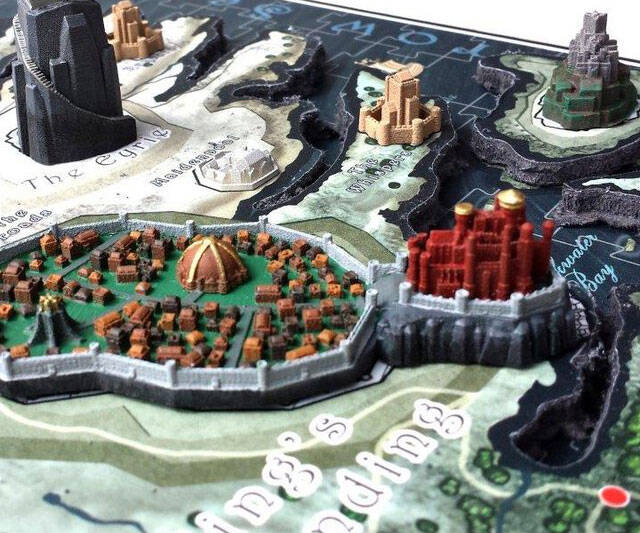 Game of Thrones 3D Map Puzzle - http://coolthings.us