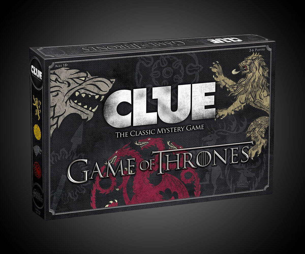 Game Of Thrones CLUE - http://coolthings.us