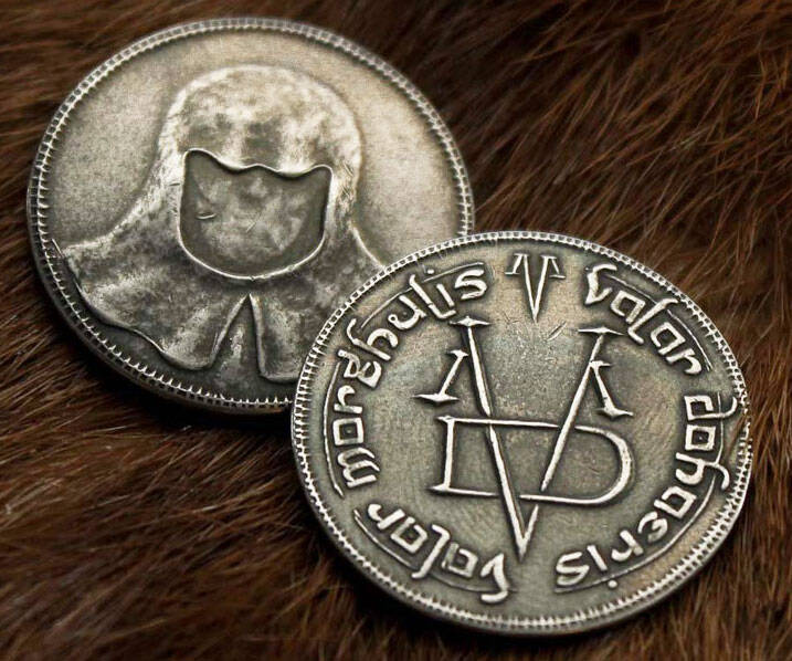 Coin Of The Faceless Man - http://coolthings.us