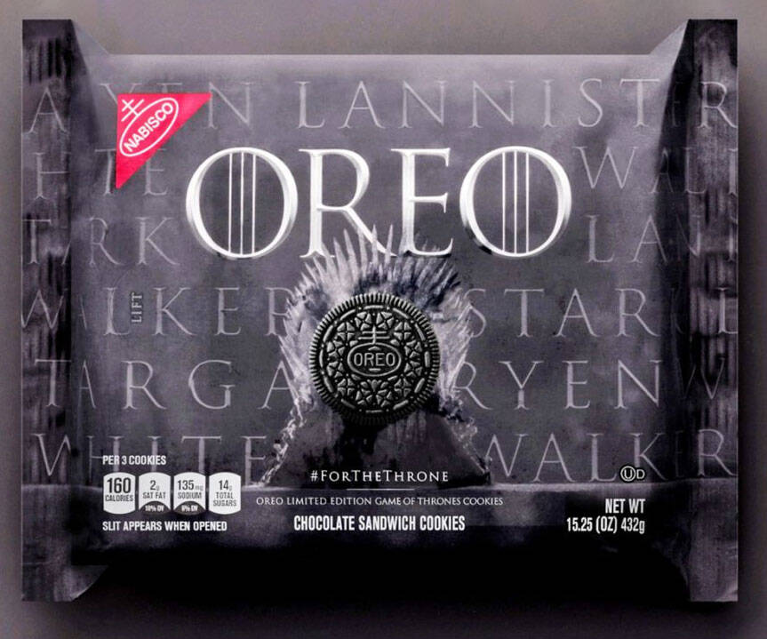 Game Of Thrones Oreo Cookies - http://coolthings.us