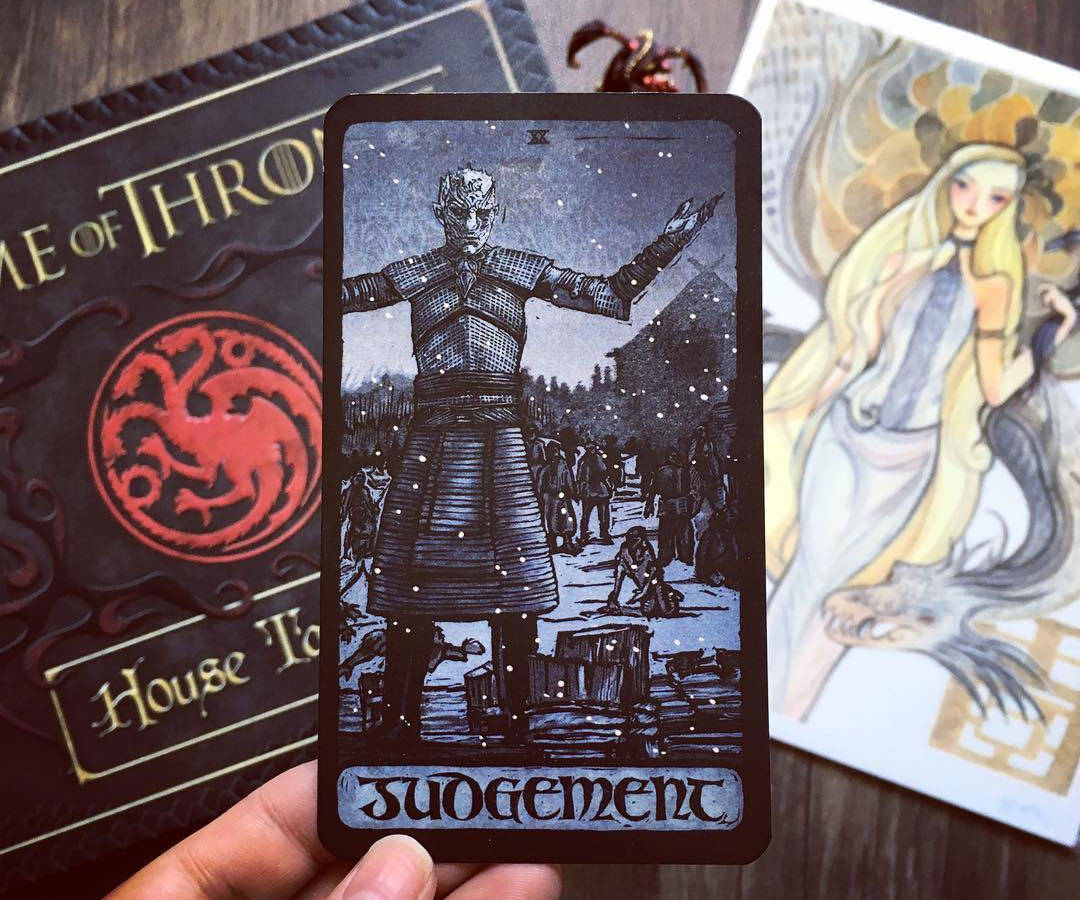 Game Of Thrones Tarot Cards - http://coolthings.us