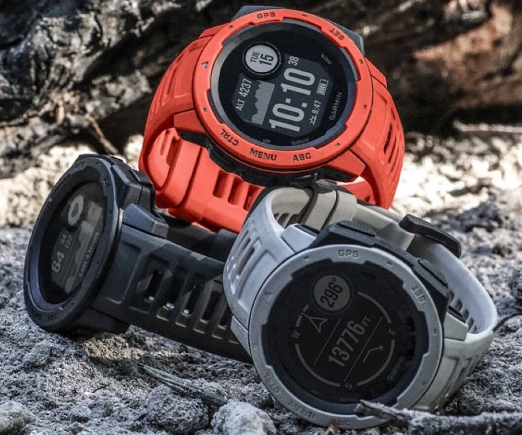 Garmin Instinct Rugged GPS Smartwatch - http://coolthings.us