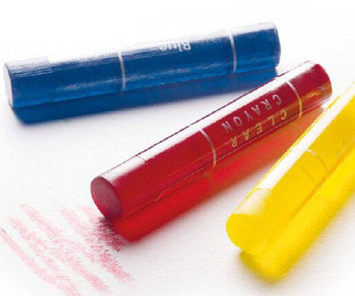 Transparent Gel Crayons - http://coolthings.us