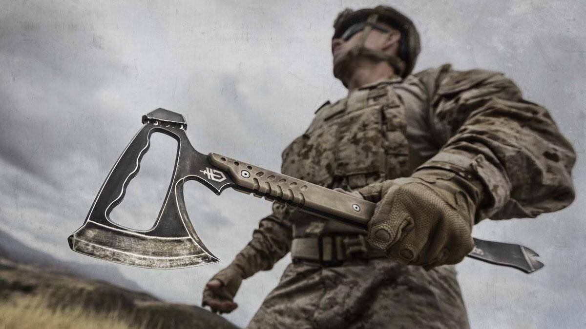 Gerber Downrange Tomahawk - http://coolthings.us