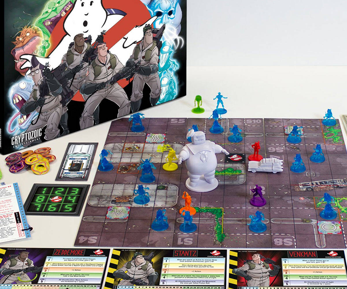 Ghostbusters: The Board Game - http://coolthings.us