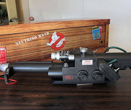 Ghostbusters Neutrino Wand - http://coolthings.us