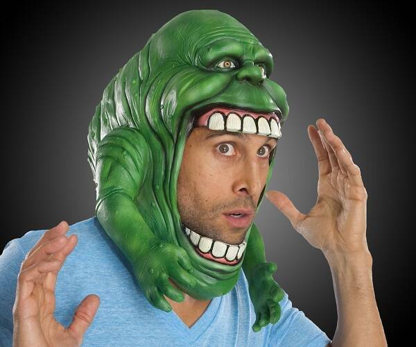 Ghostbusters Slimer Mask - http://coolthings.us