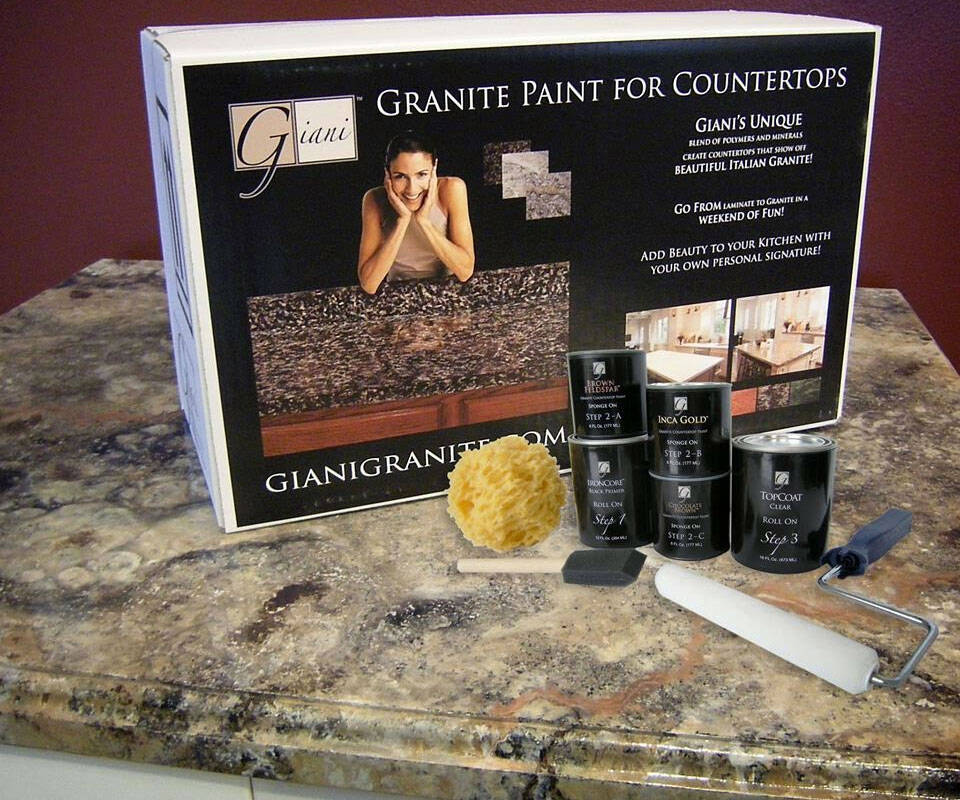 Giani Countertop Paint Kits - http://coolthings.us