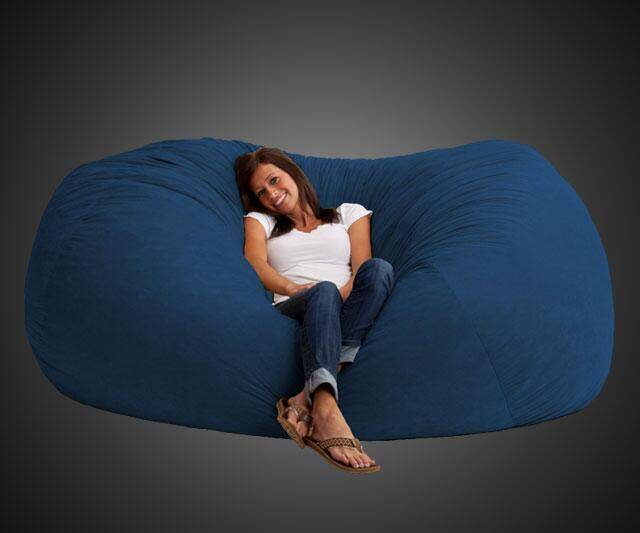 Giant Bean Bag Sofa - http://coolthings.us