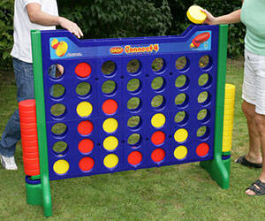 Giant Connect Four Game - http://coolthings.us