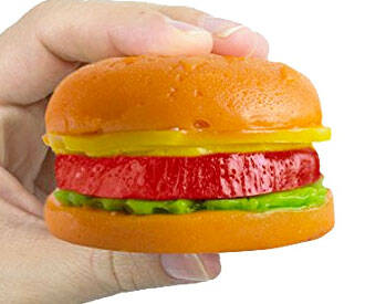 Giant Gummy Hamburger - http://coolthings.us