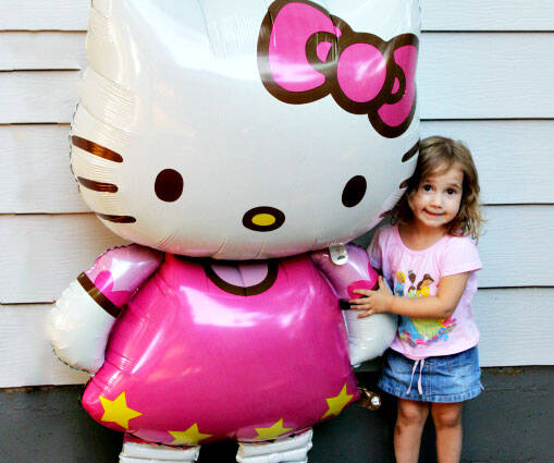 Giant Hello Kitty Balloon - http://coolthings.us