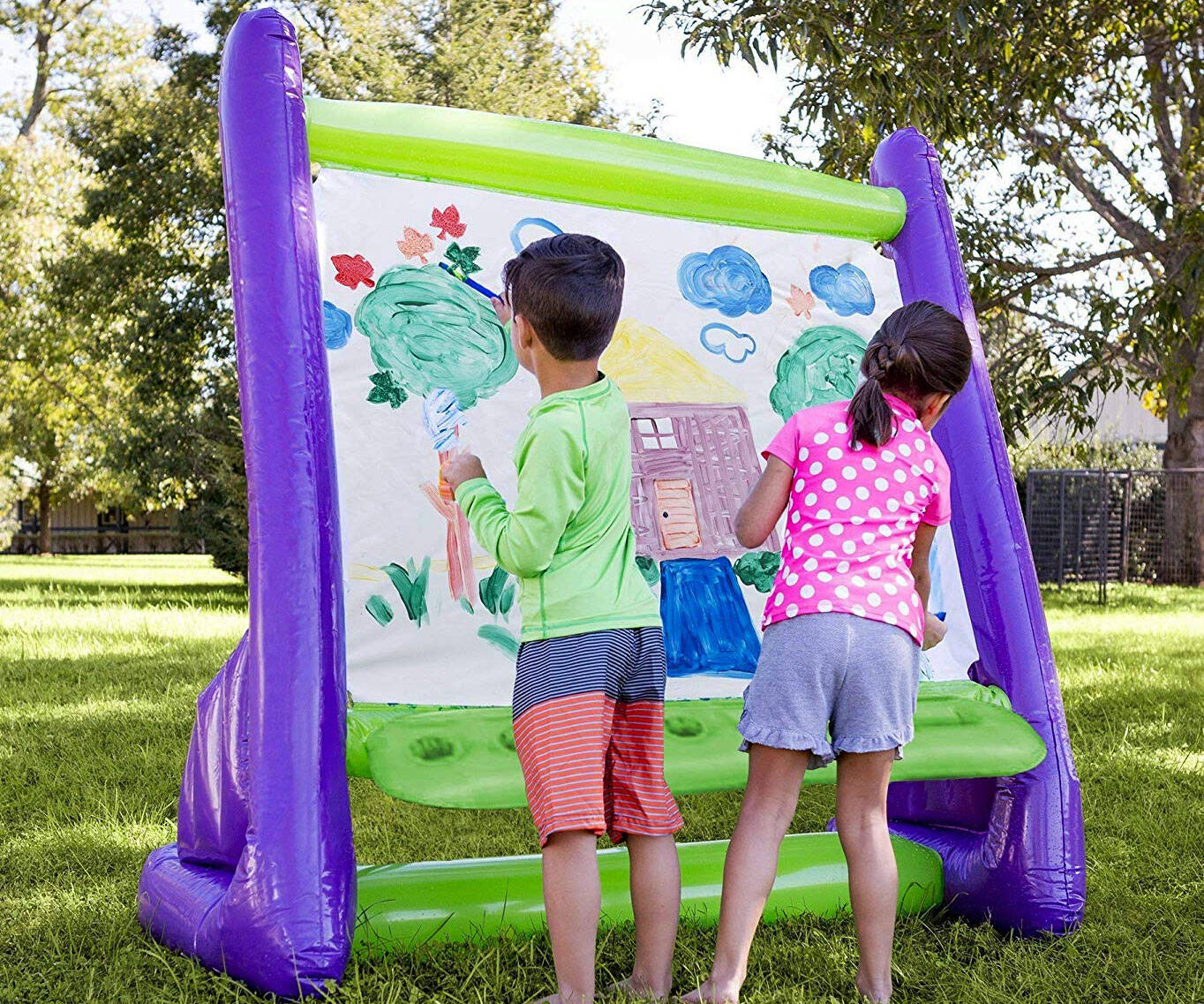 Giant Inflatable Outdoor Easel
