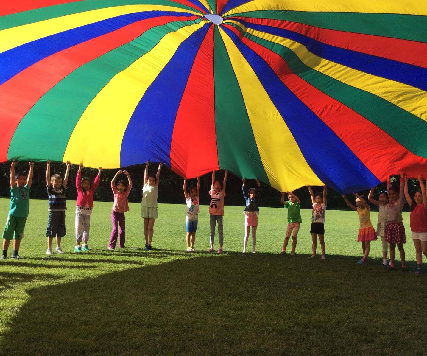 Giant Multi-Colored Parachute - http://coolthings.us