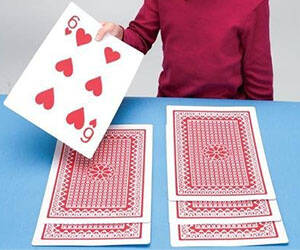 Giant Playing Cards - http://coolthings.us