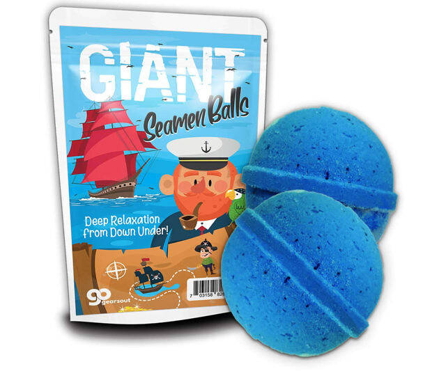 Giant Seamen Bath Bombs - http://coolthings.us