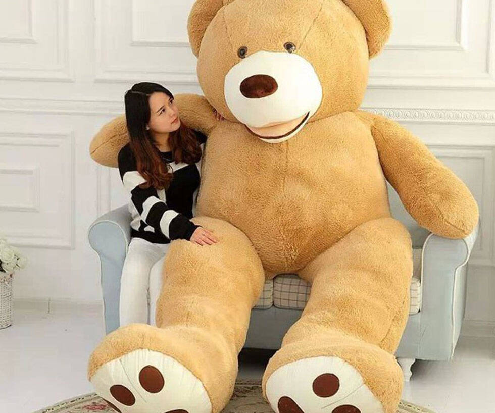 11-Foot Teddy Bear - http://coolthings.us