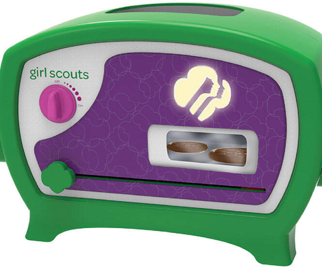 Girl Scout Cookies Oven - http://coolthings.us