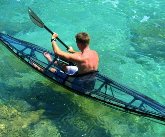 Foldable Clear Kayak - coolthings.us