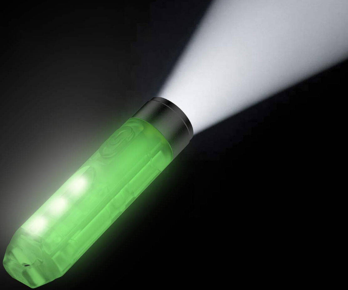 Glow In The Dark LED Flashlight - http://coolthings.us