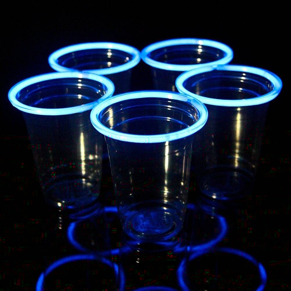Glow Stick Party Cups - http://coolthings.us